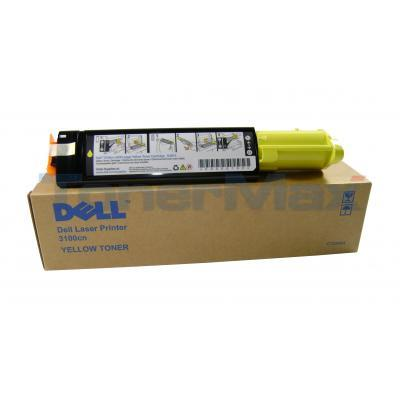 DELL 3000CN 3100CN TONER YELLOW 4K